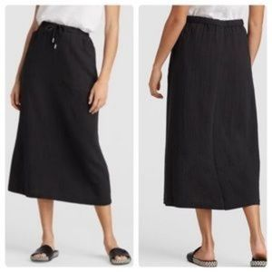 Eileen Fisher midi skirt